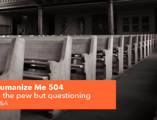 504: In the pew but questioning